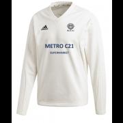 Kexborough CC Adidas Elite Long Sleeve Sweater