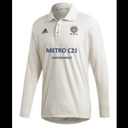 Kexborough CC Adidas Elite Long Sleeve Shirt