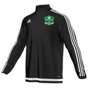 Earlswood CC Adidas Black Junior Training Top
