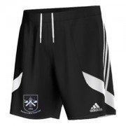 Thornton Le Moor CC Adidas Black Training Shorts