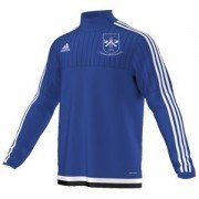 Thornton Le Moor CC Adidas Blue Training Top