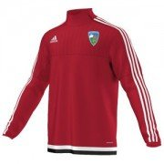 Stillington CC Adidas Red Junior Training Top