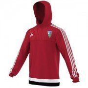 Stillington CC Adidas Red Hoody