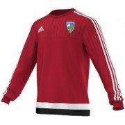 Stillington CC Adidas Red Sweat Top