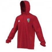 Stillington CC Adidas Red Rain Jacket