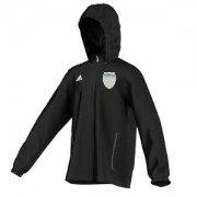 Kirkella CC Adidas Black Rain Jacket