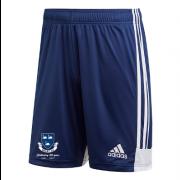 Selby CC Adidas Navy Junior Training Shorts