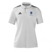 Selby CC Adidas White Polo