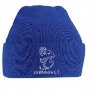 Strathmore CC Blue Beanie