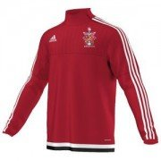 Ripley CC Adidas Red Training Top