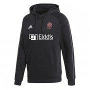 Morley CC Adidas Black Fleece Hoody