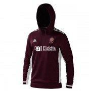 Morley CC Adidas Maroon Junior Hoody