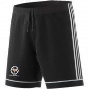 Upper Hopton CC Adidas Black Junior Training Shorts