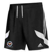 Upper Hopton CC Adidas Black Training Shorts