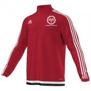 Upper Hopton CC Adidas Red Junior Training Top