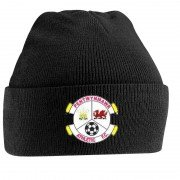 Pentwynmawr FC Black Beanie