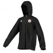 Pentwynmawr FC Adidas Black Rain Jacket