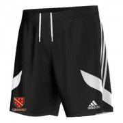 Buckland & Aston Clinton CC Adidas Black Junior Training Shorts