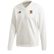Buckland and Ashton Clinton CC Adidas Elite Long Sleeve Sweater