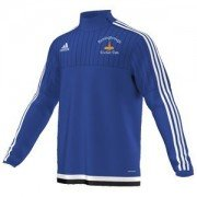 Hemingbrough CC Adidas Blue Junior Training Top