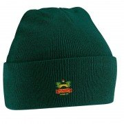 Duffield CC Green Beanie
