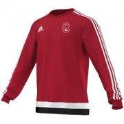 Happisburgh CC Adidas Red Sweat Top