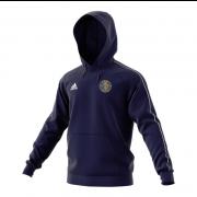 Harrow Town CC Adidas Navy Junior Fleece Hoody