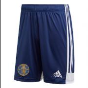 Harrow Town CC Adidas Navy Junior Training Shorts