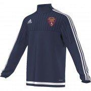 Killamarsh Juniors Athletic Adidas Navy Training Top