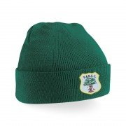 Fulwood & Broughton CC Green Beanie
