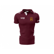 Rockingham CCC Playeroo Maroon Polo Top