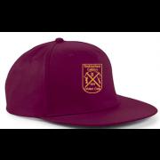 Rockingham CCC Maroon Snapback Hat