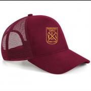 Rockingham CCC Maroon Trucker Hat