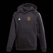 Rockingham CCC Adidas Black Junior Fleece Hoody