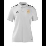Rockingham CCC Adidas White Polo