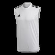 Rockingham CCC Adidas White Training Vest