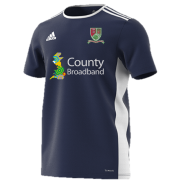 Great Bromley & District CC Navy Training Jersey
