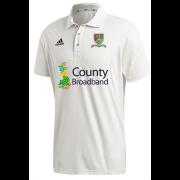 Great Bromley & District CC Adidas Elite Junior Short Sleeve Shirt