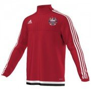 Kings College London CC Adidas Red Training Top