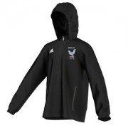 Henfield CC Adidas Black Rain Jacket