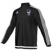 Henfield CC Adidas Black Junior Training Top