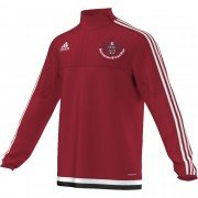 Sprowston CC Adidas Red Junior Training Top