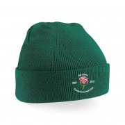 Carnforth CC Green Beanie