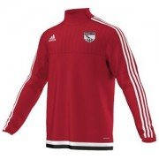 Orwell FC Adidas Red Training Top