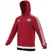Orwell FC Adidas Red Hoody