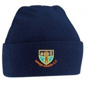 Upper Haugh CC Navy Beanie