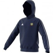 Upper Haugh CC Adidas Navy Junior Hoody