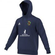 Langley CC Adidas Navy Junior Hoody