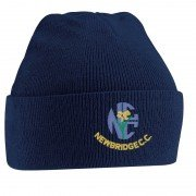 Newbridge CC Navy Beanie