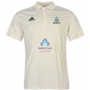 Marske CC Adidas Pro Junior Short Sleeve Polo